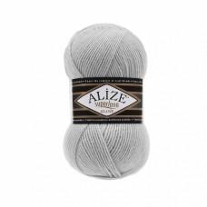 Пряжа для вязания Ализе Superlana klasik (25% шерсть, 75% акрил) 5х100г/280м цв.168 слоновая кость