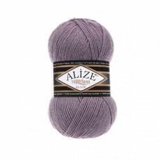 Пряжа для вязания Ализе Superlana klasik (25% шерсть, 75% акрил) 5х100г/280м цв.312 грязная роза