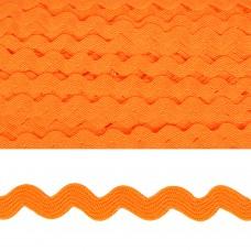 Тесьма декоративная Вьюнчик TBY.64312 шир.5мм цв.F157 оранжевый уп.32,92м