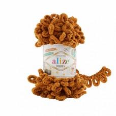 Пряжа для вязания Ализе Puffy (100% микрополиэстер) 5х100г/9.5м цв.717 тигр