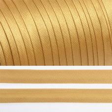 Косая бейка TBY атласная шир.15мм цв.F277 (6455) бежевый уп.132 м