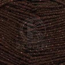 Пряжа для вязания КАМТ Праздничная (48% кашмилон, 48% акрил, 4% метанин) 10х50г/160м цв.063 шоколад