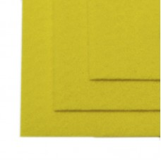Фетр листовой мягкий IDEAL 1мм 20х30см FLT-S1 уп.10 листов цв.633 лимон