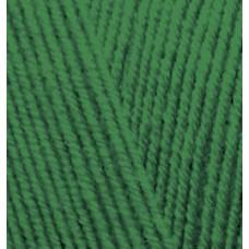 Пряжа для вязания Ализе LanaGold Fine (49% шерсть, 51% акрил) 5х100г/390м цв.118 т.зеленый