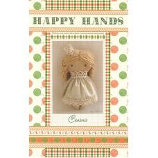 Набор для изготовления текстильной игрушки HAPPY HANDS МК-01 15 см Селена