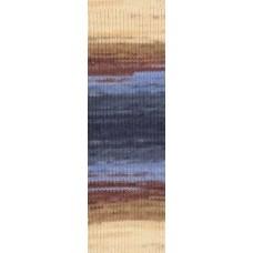 Пряжа для вязания Ализе LanaGold Fine (49% шерсть, 51% акрил) 5х100г/390м цв.005 беж