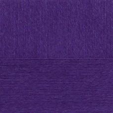 Пряжа для вязания ПЕХ Школьная (100% акрил) 5х50г/150м цв.078 фиолетовый