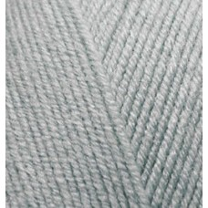 Пряжа для вязания Ализе Happy Baby (65% акрил, 35% полиамид) 5х100г/350м цв.119 серый