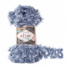 Пряжа для вязания Ализе Puffy Fur (100% полиэстер) 5х100г/6м цв.6106