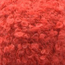 Пряжа для вязания ПЕХ Буклированная (30% мохер, 20% тонкая шерсть, 50% акрил) 5х200г/220м цв.088 красный мак
