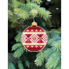 Набор для вышивания Crystal Art T-13 Счастливого Рождества 9х10 см