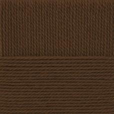 Пряжа для вязания ПЕХ Народная традиция (30% шерсть, 70% акрил) 10х100г/100м цв.416 св.коричневый