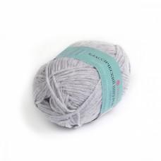 Пряжа для вязания ПЕХ Классический шнурок (60% хлопок, 40% акрил) 5х50г/135м цв.386 св.серый меланж