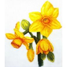 Набор для вышивания ИВАНКА 0-07 Нарциссы 23х20 см