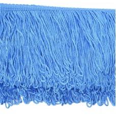 Бахрома шелковая FD-10 шир.10см цв.121 голубой уп.10м