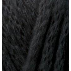 Пряжа для вязания Ализе Country (20% шерсть, 55% акрил, 25% полиамид) 5х100г/34м цв.060 черный