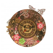 Набор для вышивания НОВА СЛОБОДА РТ7001 Цветочное время 28х28 см