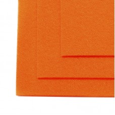 Фетр листовой мягкий IDEAL 1мм 20х30см FLT-S1 уп.10 листов цв.645 бл.оранжевый