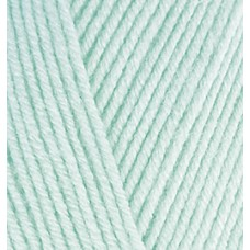 Пряжа для вязания Ализе Baby Best (90% акрил, 10% бамбук) 5х100г/240м цв.019 мята