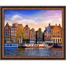 Набор для изготовления картин АЛМАЗНАЯ ЖИВОПИСЬ АЖ.1832 «Амстердам» 50х40 см