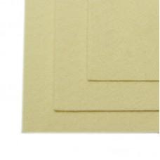 Фетр листовой жесткий IDEAL 1мм 20х30см FLT-H1 уп.10 листов цв.647 топ.молоко