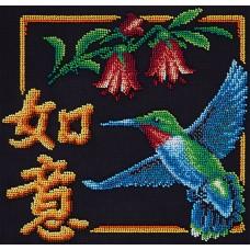 Набор для вышивания PANNA И-1985 Иероглиф Исполнение желаний 24 x 26 см