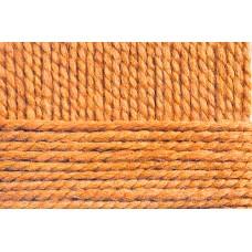 Пряжа для вязания ПЕХ Смесовая (70% акрил высокообъемный, 30% шерсть) 5х200г/200м цв.284 оранжевый
