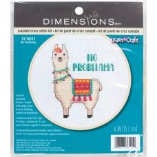 Набор для вышивания DIMENSIONS DMS-72-76111 Не проблема 15х15 см