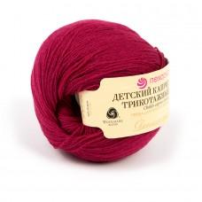 Пряжа для вязания ПЕХ Детский каприз трикотажный (50% мериносовая шерсть, 50% фибра) 5х50г/400м цв.040 цикламен