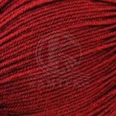 Пряжа для вязания КАМТ Карамелька (100% акрил) 10х50г/175м цв.091 вишня