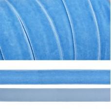 Лента бархатная TBY.LB2083 нейлон шир.20мм цв.голубой уп.20м