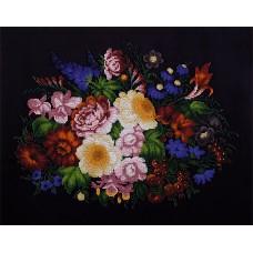 Набор для вышивания PANNA БН-5011 Жостовские цветы 43 x 34 см