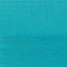 Пряжа для вязания ПЕХ Классический хлопок (100% мерсеризованный хлопок) 5х100г/250м цв.045 т.бирюзовый
