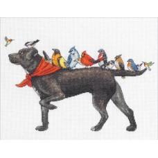 Набор для вышивания DIMENSIONS DMS-70-35385 Охотничья собака