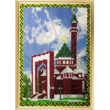 Набор для вышивания Вышивальная мозаика  190РВМ. Мечети мира. Мемориальная мечеть в Москве 13,5х20 см