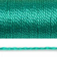 Нить полипропиленовая 01мм цв.зеленый уп.50м