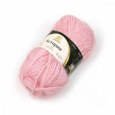Пряжа для вязания КАМТ Астория (65% хлопок, 35% шерсть) 5х50г/180м цв.293 розовый песок
