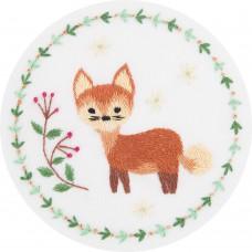 Набор для вышивания PANNA Живая картина ЖК-2130 Рыжая лисичка 10x10 см