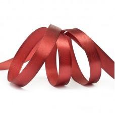 Лента атласная 1/2 (12мм) цв.3091 т.красный IDEAL уп.27,4 м