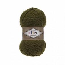 Пряжа для вязания Ализе Alpaca Royal (30% альпака, 15% шерсть, 55% акрил) 5х100г/280м цв.233 оливковый зеленый