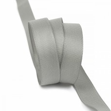 Лента Ideal репсовая в рубчик шир.15мм цв. 012 серый уп.27,42м