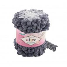 Пряжа для вязания Ализе Puffy Ombre Batik (100% микрополиэстер) 1х600г/55м цв.7421
