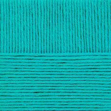 Пряжа для вязания ПЕХ Молодёжная (91% акрил высокообъемный, 9% полиамид) 5х200г/280м цв.045 т.бирюза