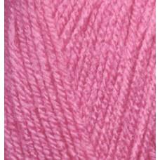 Пряжа для вязания Ализе Sekerim Bebe (100% акрил) 5х100г/350м цв.246 роза