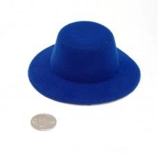Шляпа КЛ.21570 круглая 10см цв.синий