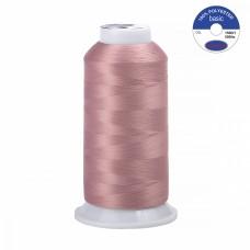 Нитки текстурированные некрученые MAX 150D/1 5000 м 90гр 100%п/э цв.362 пудро-розовый