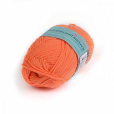 Пряжа для вязания ПЕХ Классический шнурок (60% хлопок, 40% акрил) 5х50г/135м цв.284 оранжевый