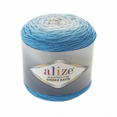 Пряжа для вязания Ализе Superlana Midi Ombre Batik (25% шерсть, 75% акрил) 2х300г/510м цв.7275