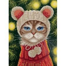 Набор для вышивания PANNA  PR-7263 Новогоднее настроение 16х21 см