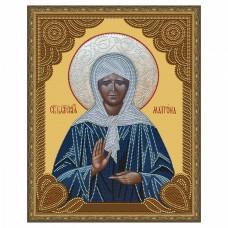 Картина 5D мозаика с нанесенной рамкой Molly KM0790 Матрона Московская (10 цветов) 40х50 см